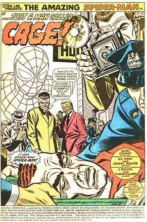 spider man 123 splash page