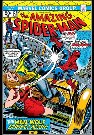 spider man 125 cover