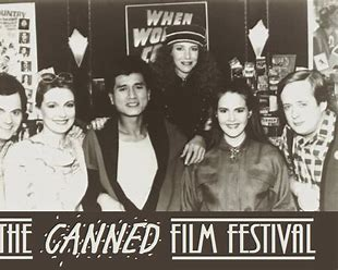 canned film festival black and white pic