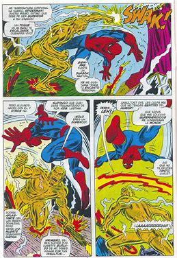 spider man molten man