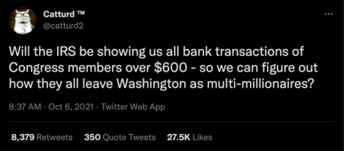 transactions on congress members